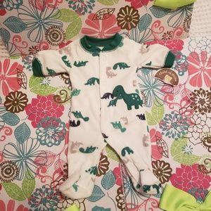 Child of Mine NB dinosaur sleeper NEW